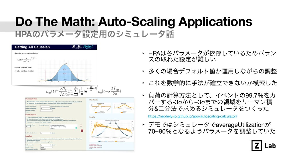 Do The Math: Auto-Scaling Applications HPAͷύϥϝʔ...