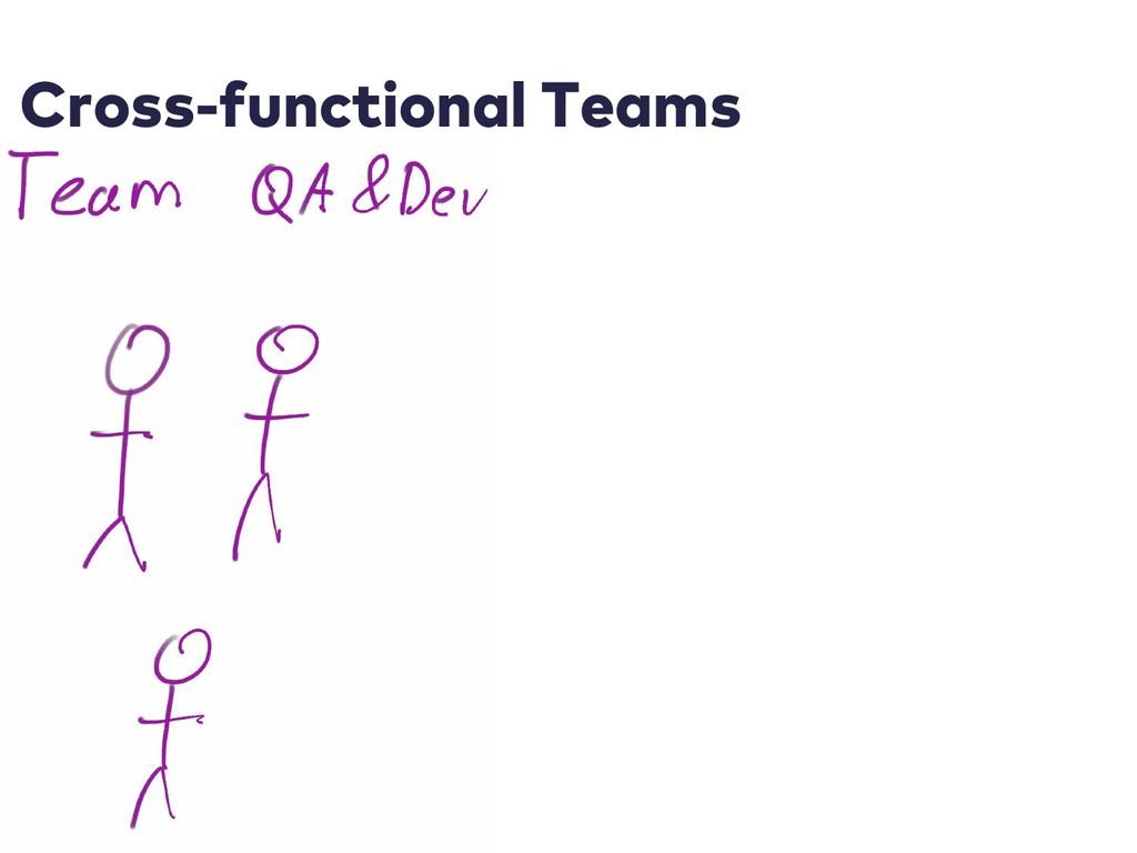 Cross-functional Teams