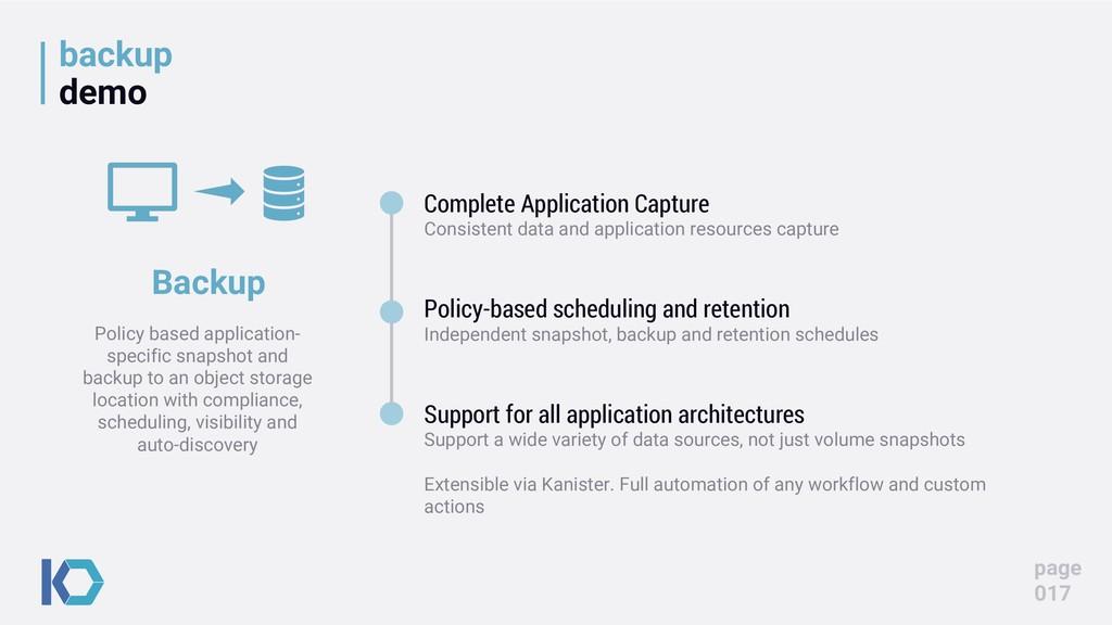 backup demo page 017 Complete Application Captu...
