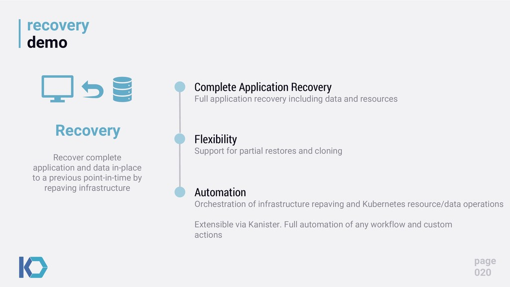 recovery demo page 020 Complete Application Rec...