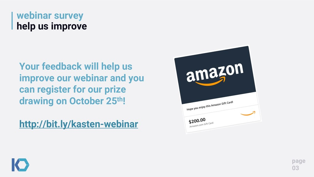webinar survey help us improve page 03 Your fee...