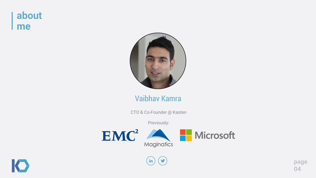 about me page 04 Vaibhav Kamra CTO & Co-Founder...