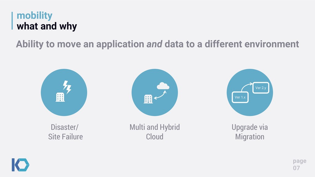 mobility what and why page 07 Upgrade via Migra...