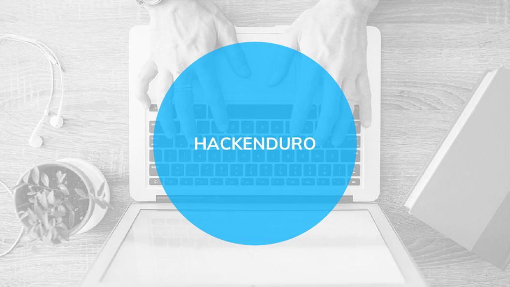 HACKENDURO