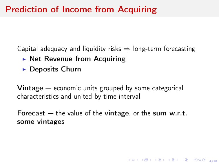4/20 Prediction of Income from Acquiring Capita...