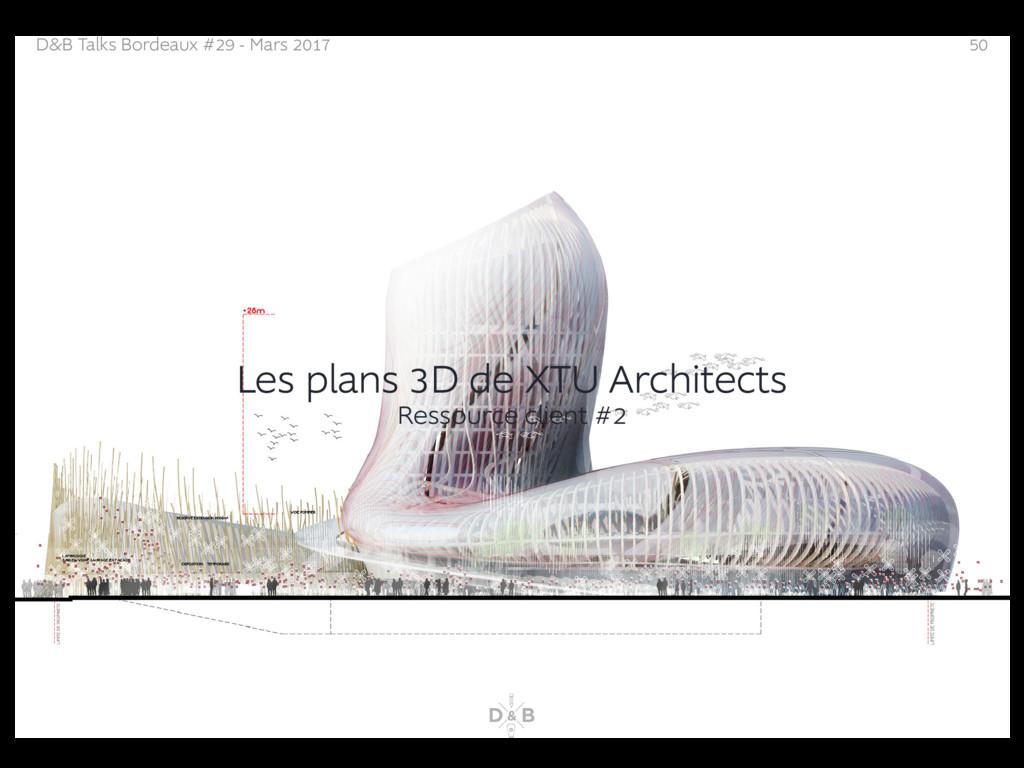 D&B Talks Bordeaux #29 - Mars 2017 50 Les plans...