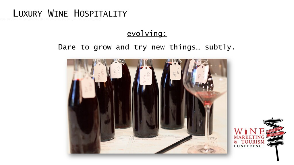 evolving: Dare to grow and try new things… subt...