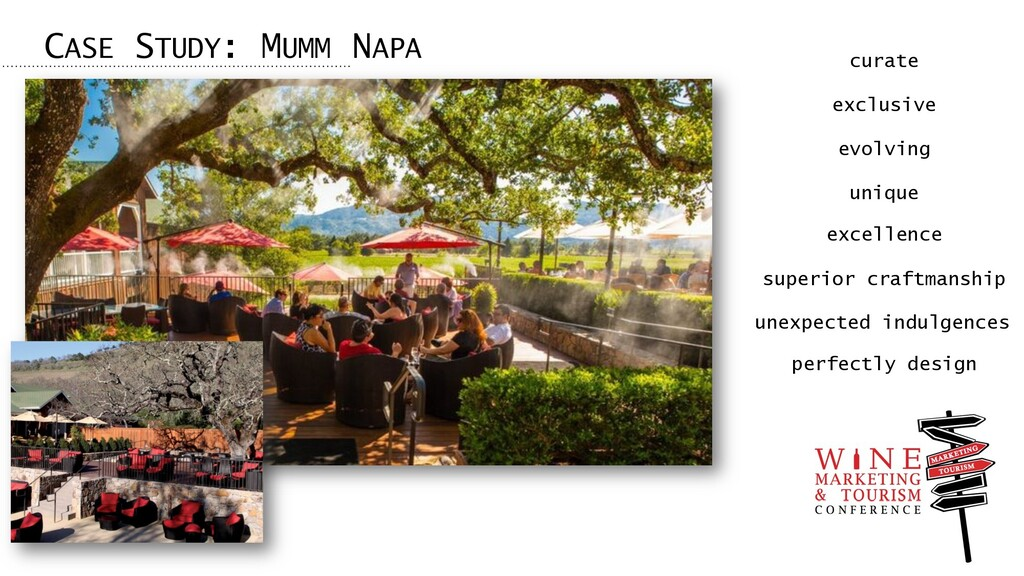 CASE STUDY: MUMM NAPA curate exclusive evolving...