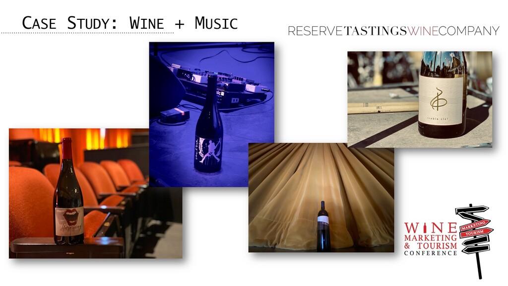 CASE STUDY: WINE + MUSIC