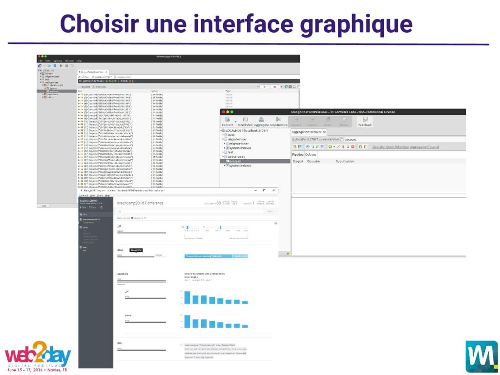 Choisir une interface graphique