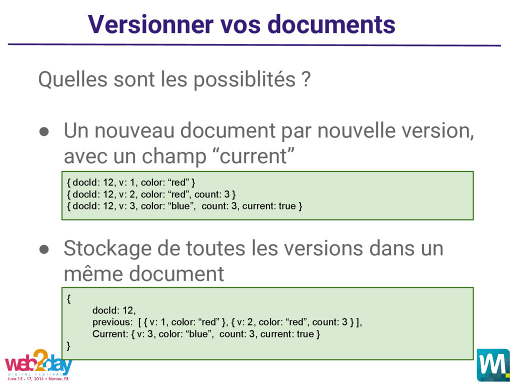 Versionner vos documents Quelles sont les possi...