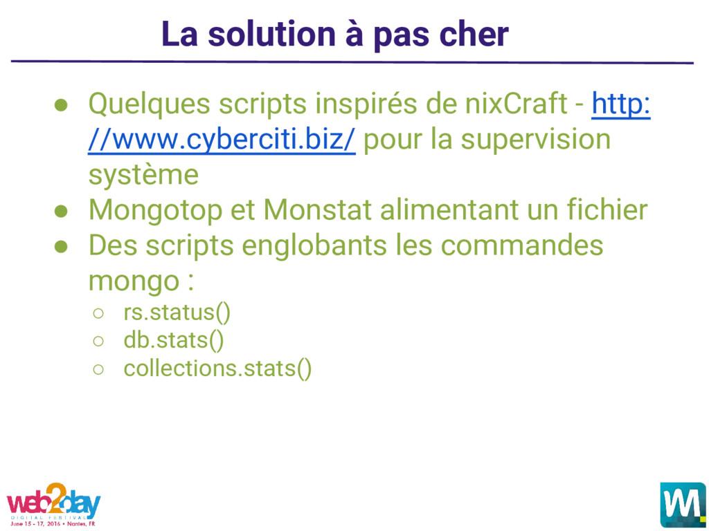 ● Quelques scripts inspirés de nixCraft - http:...