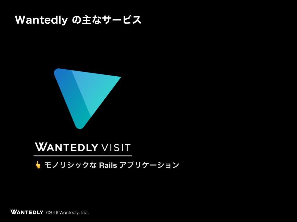 ©2018 Wantedly, Inc. 8BOUFEMZͷओͳαʔϏε  ϞϊϦγοΫͳ ...