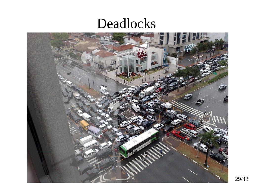 29/43 Deadlocks