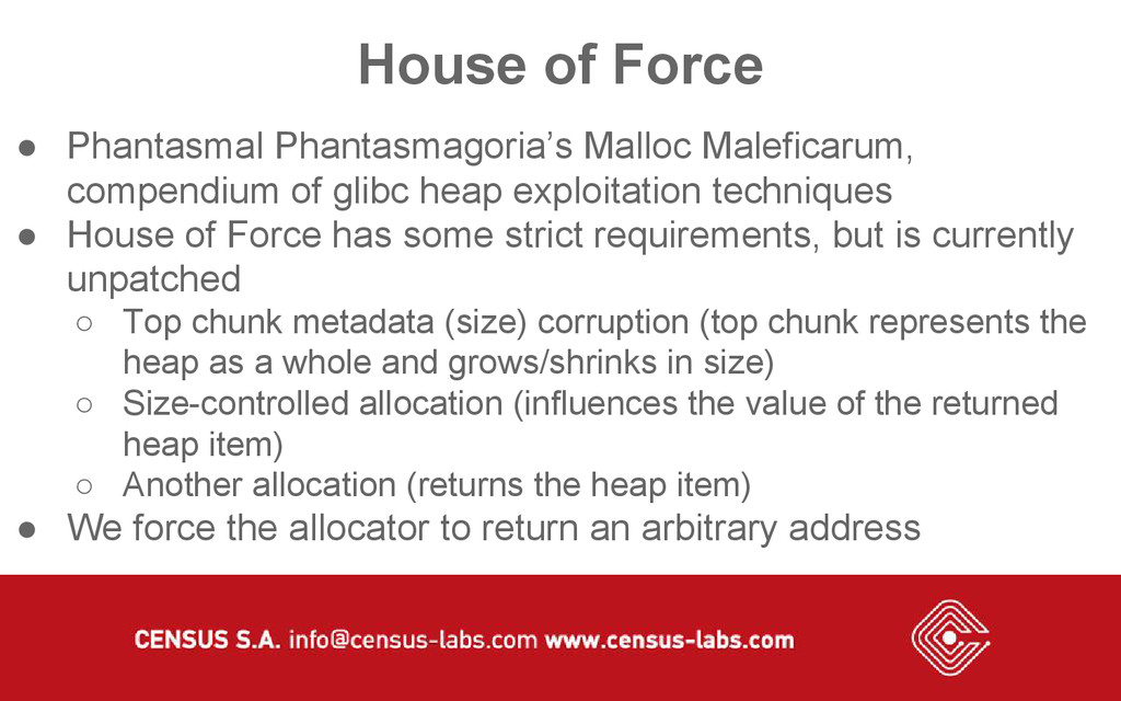 House of Force ● Phantasmal Phantasmagoria's Ma...