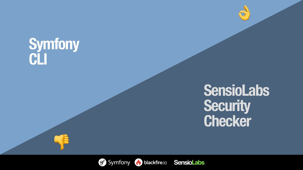 Symfony CLI SensioLabs Security Checker