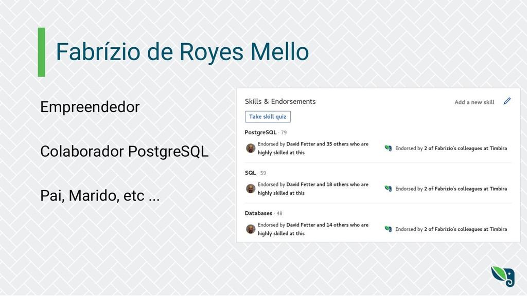 Fabrízio de Royes Mello Empreendedor Colaborado...