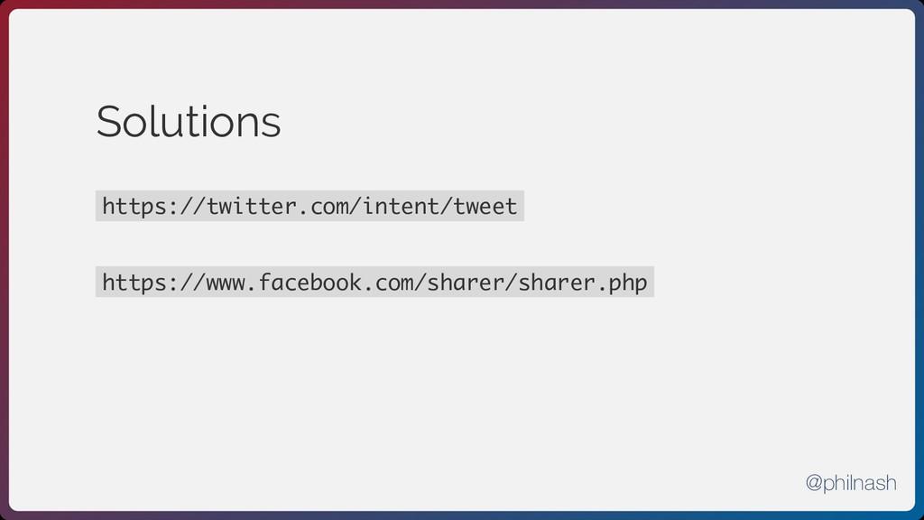 Solutions https://twitter.com/intent/tweet http...