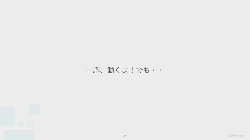 SUPINF Inc ҰԠɺಈ͘ΑʂͰɾɾ !2