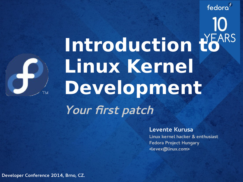 Introduction to Linux Kernel Development Your f...