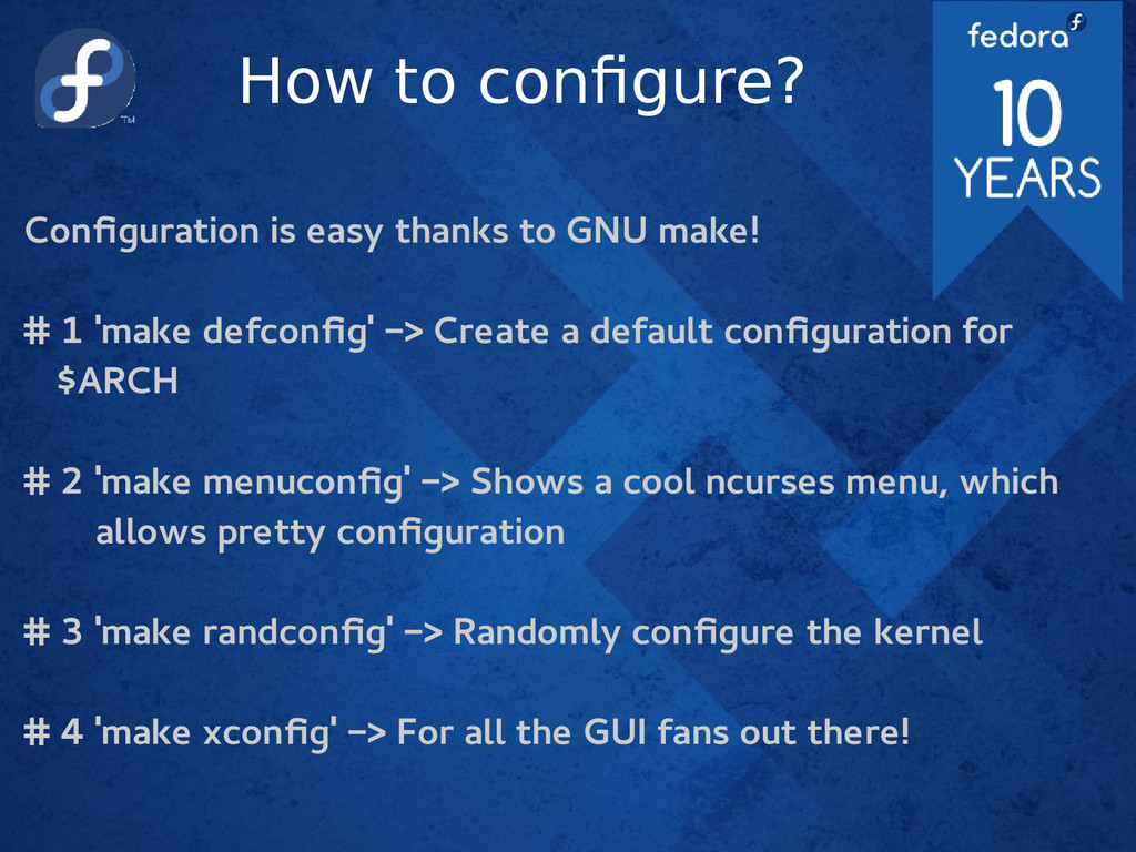 How to configure? Configuration is easy thanks ...