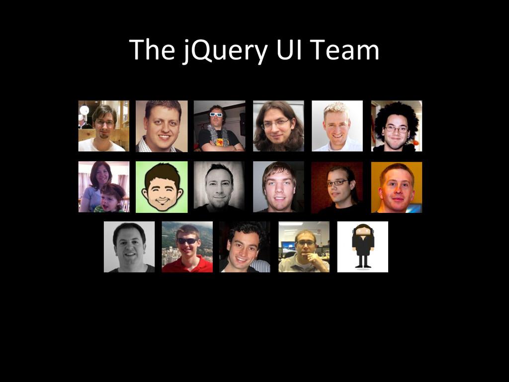 The jQuery UI Team