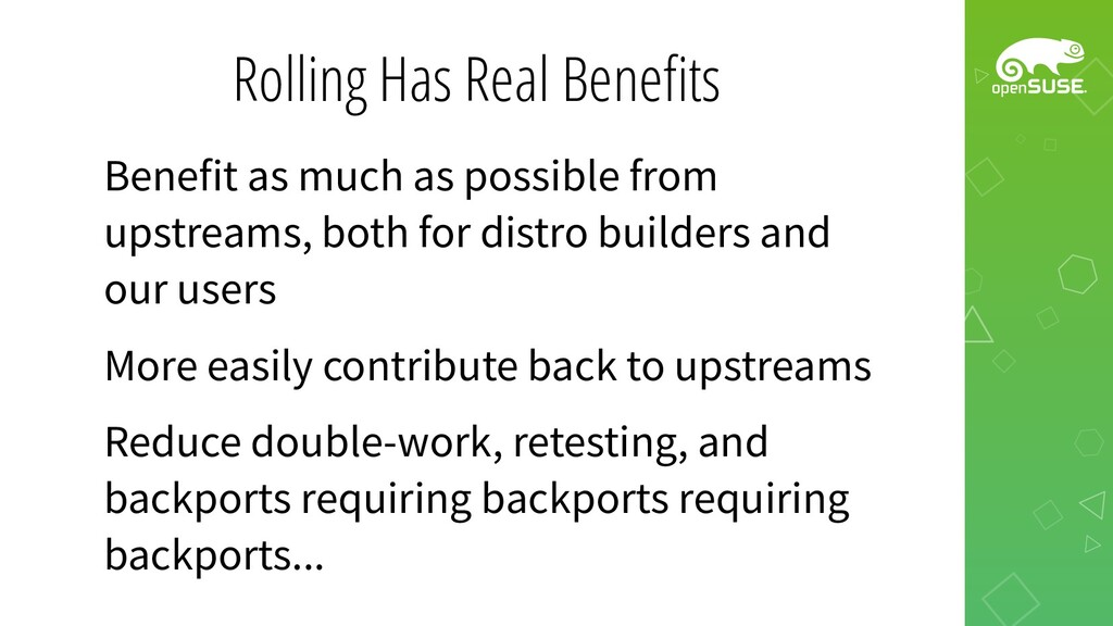 Rolling Has Real Benefits Benefit as much as po...