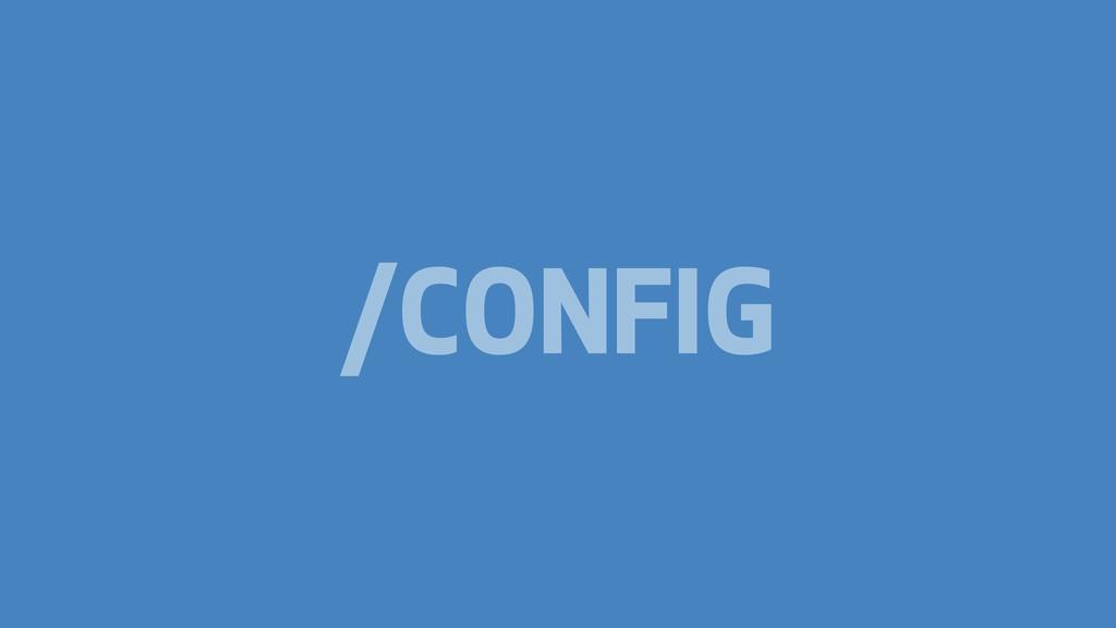 /CONFIG