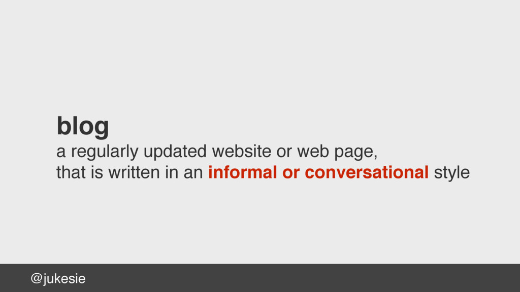 @jukesie blog a regularly updated website or we...