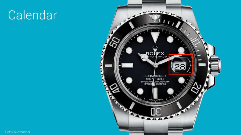 Calendar Rolex Submariner