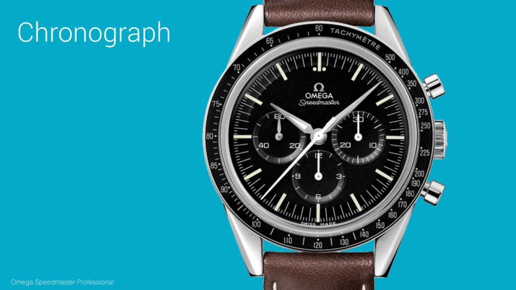 Chronograph Omega Speedmaster Professional