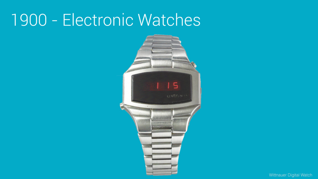 1900 - Electronic Watches Wittnauer Digital Wat...