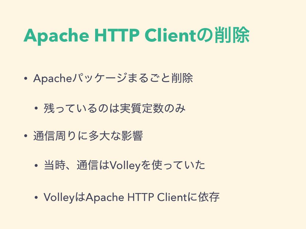 Apache HTTP Clientͷআ • Apacheύοέʔδ·Δ͝ͱআ • ͬͯ...