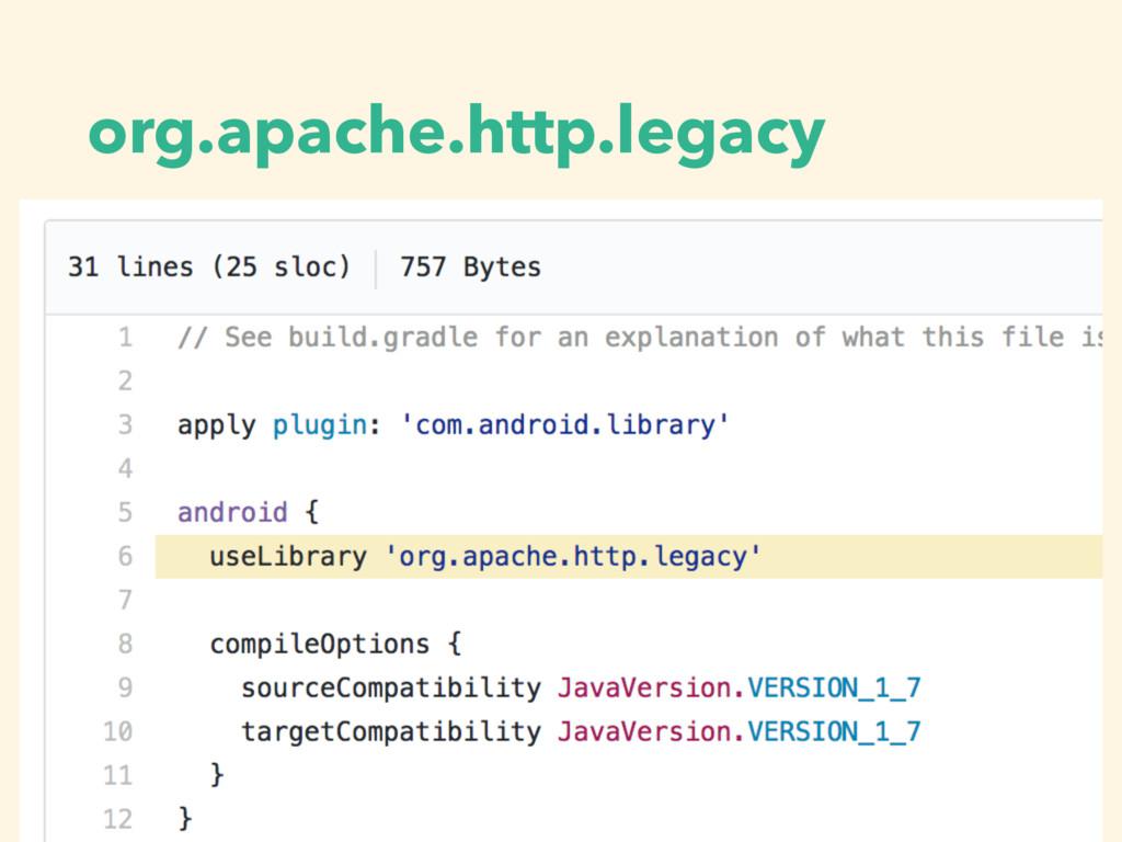 org.apache.http.legacy