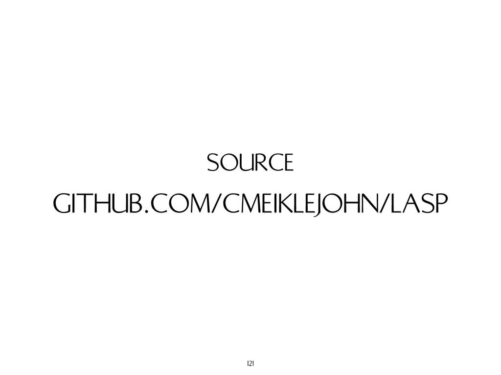 GITHUB.COM/CMEIKLEJOHN/LASP SOURCE 121