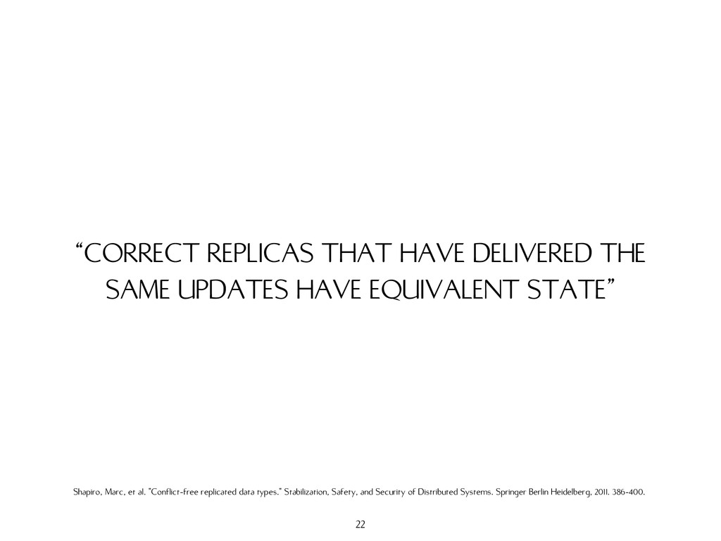 """CORRECT REPLICAS THAT HAVE DELIVERED THE SAME ..."