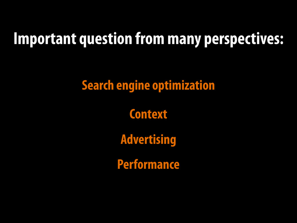 Context Advertising Performance Important quest...