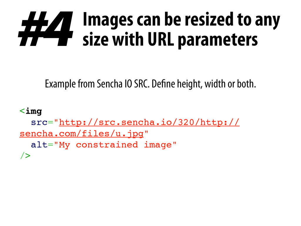 Example from Sencha IO SRC. Define height, widt...