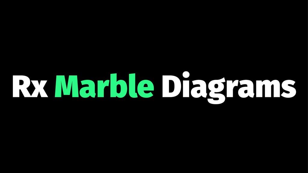 Rx Marble Diagrams