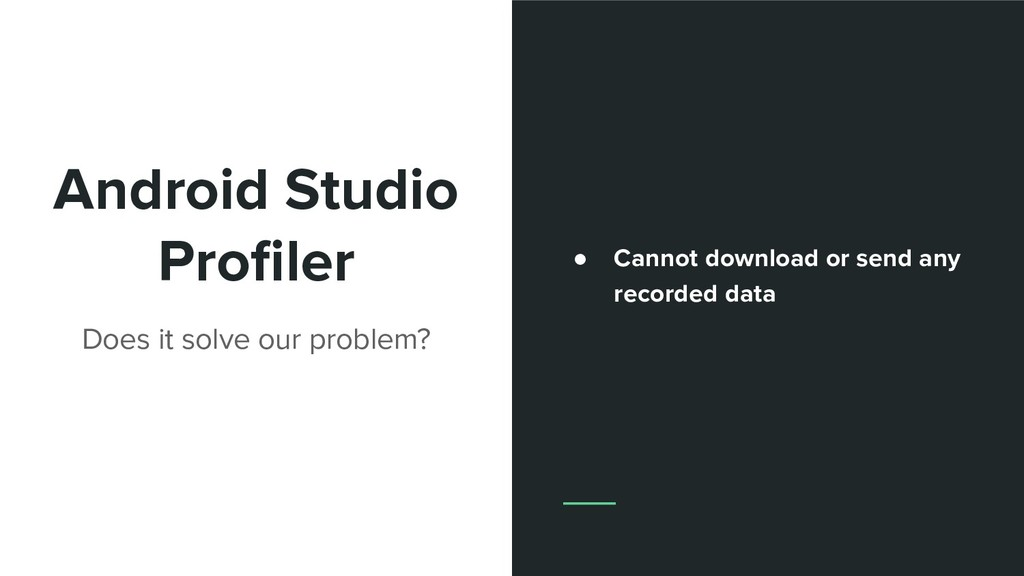 Android Studio Profiler Does it solve our proble...