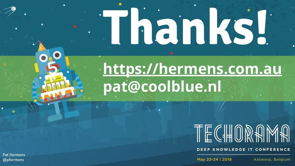 https://hermens.com.au pat@coolblue.nl Pat Herm...