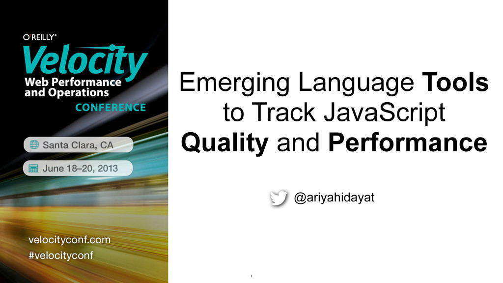 Emerging Language Tools to Track JavaScript Qua...