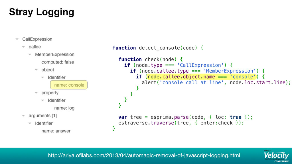 function detect_console(code) { function check(...