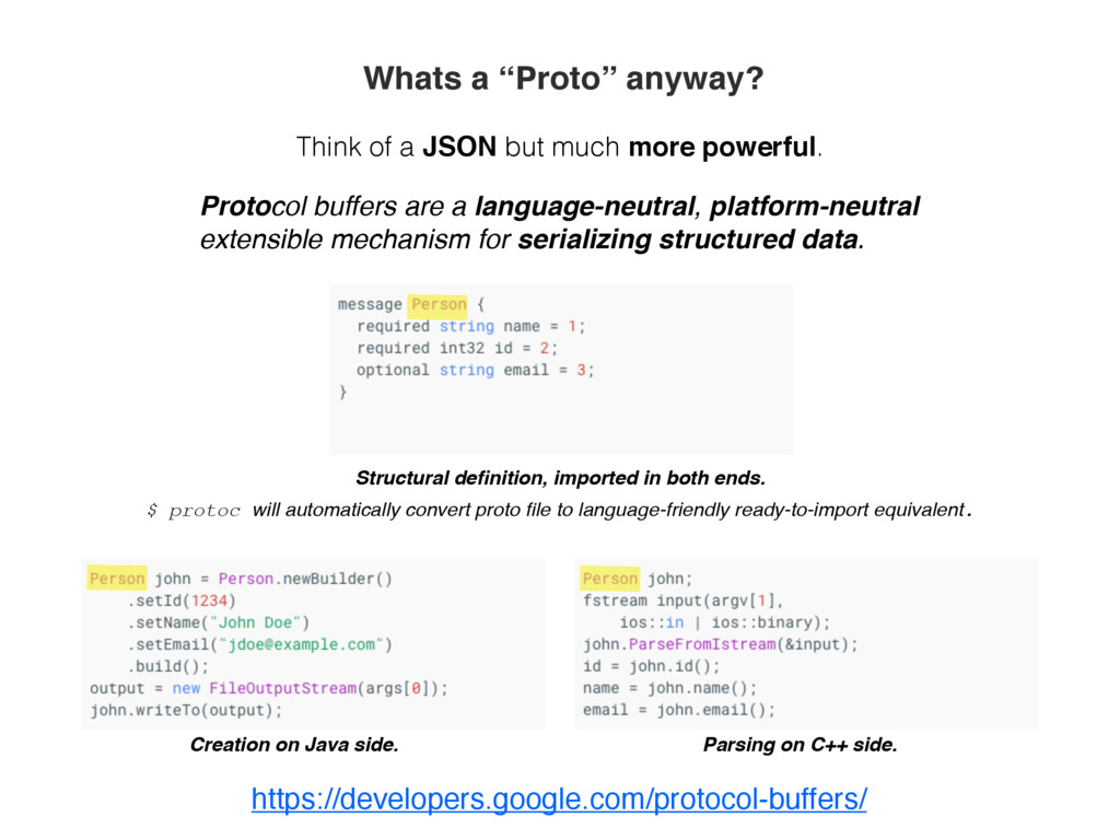"""Whats a """"Proto"""" anyway? Think of a JSON but muc..."""