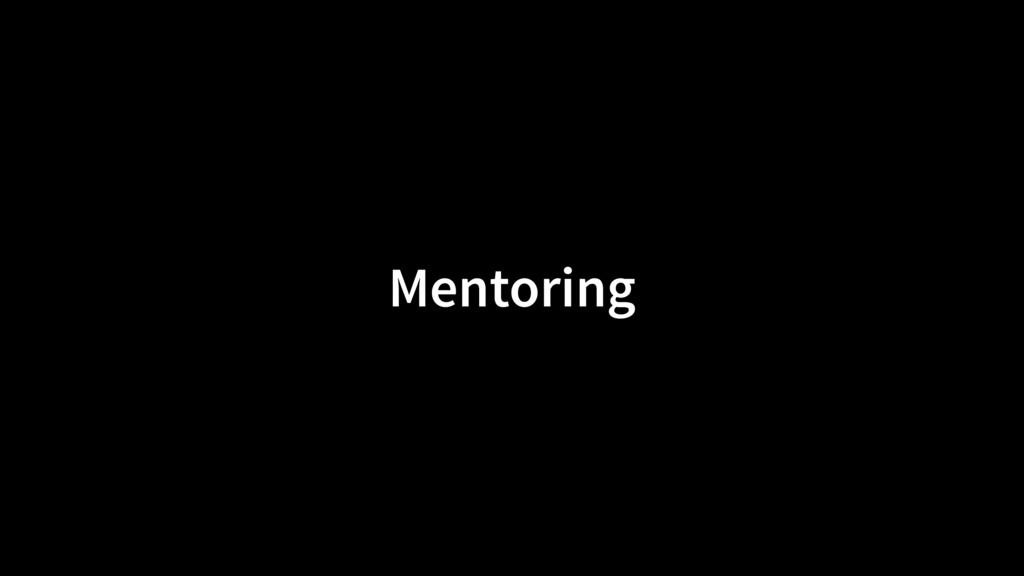 Mentoring