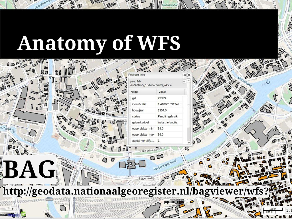 Anatomy of WFS Delivers geometry Geographical M...