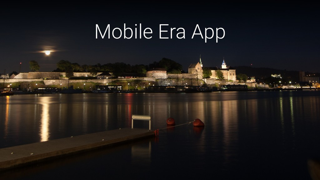 Mobile Era App