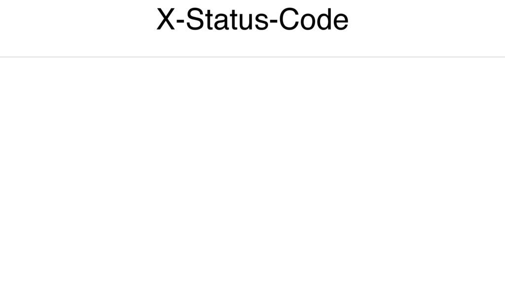X-Status-Code