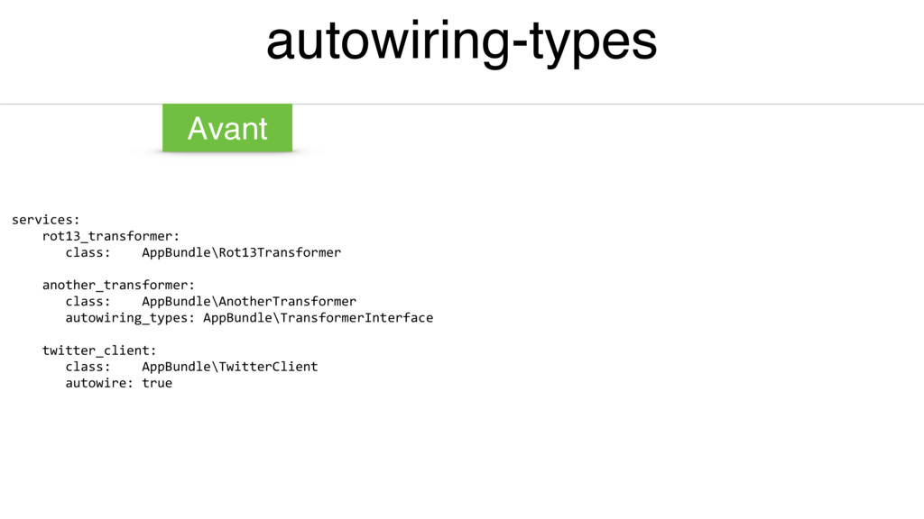 autowiring-types services: rot13_transformer: c...