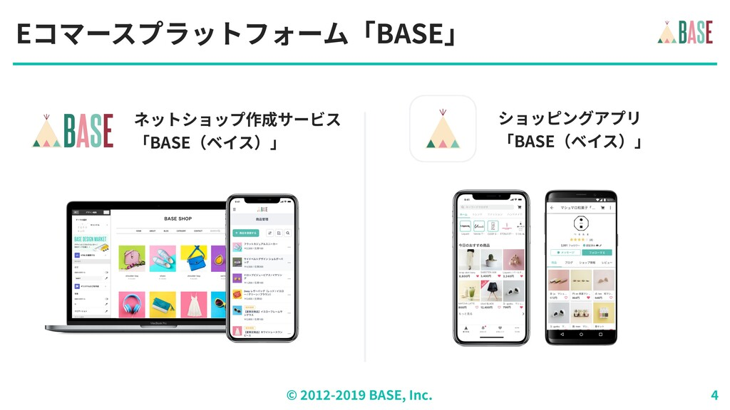 © - BASE, Inc. Eコマースプラットフォーム「BASE」 ネットショップ作成サービ...